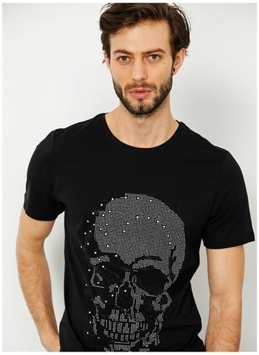Black On Black Black On Black Bob 105 Siyah Erkek T-Shirt Siyah